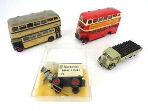 Anbrico Metal Bus Kit Bundle Crossley Horse & Cart Coal Wagon Spares Repairs