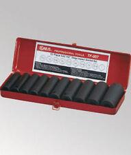 "Genius Tools 10pc 1/2"" Dr. Metric Deep Impact Socket Set TF-008"
