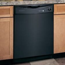 Gloss Black Magnet Dishwasher Skin Cover Panel-Instant to Apply-Cheap Panels