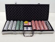 Trademark Poker 10-1090-500SQL Poker Chip Set