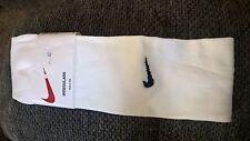 New listing NEW Nike Park IV Cushioned Soccer Socks White Size L SX4770-101