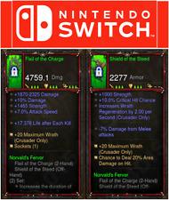 Diablo 3 [Softcore] - Nintendo-Commutateur Primal Norvald la ferveur Crusader Set