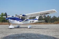 PARK FLITE Cessna 182 Skylane RTF 2.4Ghz - Bleu: Ready to Fly RC Avion TGP0355B