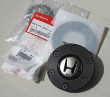 HONDA ACURA NSX R NA1 2 BK HORN BUTTON & STEERING WHEEL CENTER RING & SCREWS OEM