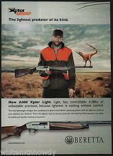 2011 BERETTA A400 Xplor Light Shotgun PRINT AD Collectible Advertising