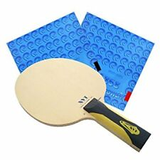 XVT ZL Carbon Hinoki Table Tennis Racket + Kokutaku 868 Spinpower Rubbers