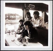 THE BEATLES POSTER PAGE . 1966 GROUP PORTRAIT JOHN LENNON & GEORGE . H78