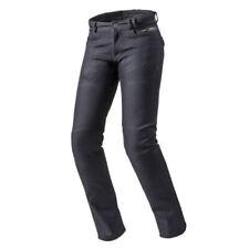 Pantalons bleus pour motocyclette femme