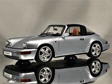 GT Spirit Porsche 911 (964) Targa 4 Polar Silver Resin Model Car 1:18