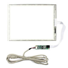 """10.4"""" 5 Wire RESISTIVE Touch Panel 249x186 With USB Port Controller Card"""