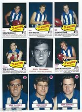 1966 Scanlens Archives NORTH MELBOURNE Master Set (11 Cards) ****