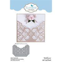 Elizabeth Craft Designs Lace Pocket Die, Grey - Die New