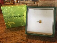 New!!!Anthropologie Alex Monroe Citrine Ring Rare! Sold Out Everywhere! $350!