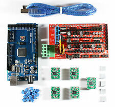 RAMPS 1.4 Set/Kit For RepRap 3D Printer - Mega 2560, 5x A4988, USB Cable Arduino