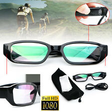 1080P HD Digital Video Camera Glasses Audio Recording DVR Eyewear Camcorder