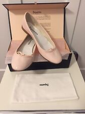 Repetto Ballerinas Lackleder Puder Nude Rose Gr.38 Neu