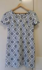 NEW Linen Floral V neck sheath dress, size 12