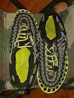 KEEN ~ Gray Woven UNEEK Bungee Lacing Sport Sandals Water Shoes ~ Women's Size 4