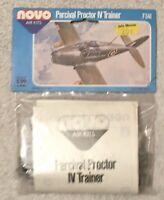 NOS Vintage Novo Air Kits 1/72 Percival Proctor IV Trainer - F341 -