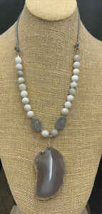 Barse Light The Night Necklace- Mixed Stones- Sterling Silver- NWT