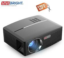 "100% Original Vivibright GP80 LED Projector 1800 Lm HD, 40"" to 135"" Anaglyph 3D"