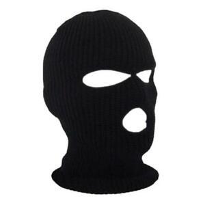 Mens Ski Mask (Balaclava) Sniper, SWAT or Ninja, 3 hole (thick winter)