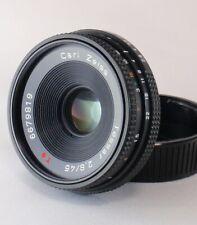 Contax Carl Zeiss Tessar T* 45mm f/2.8 MF Lens MMJ From Japan 【Near Mint】
