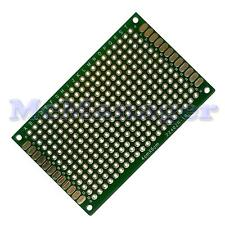 Foré Double Sided Copper Prototype PCB matrice Epoxy Fibre de Verre Planche 40x60mm