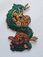 "Tiger Dragon Martial Arts Patch - 5"" P1416"