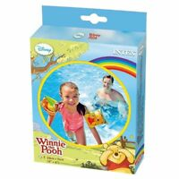 Intex Winnie The Pooh Deluxe Arm Bands Floats Swimming Pool Kids Inflatable Fun