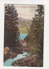 Brienzersee Hotel Giessbach [2105] Switzerland Vintage Postcard 318b