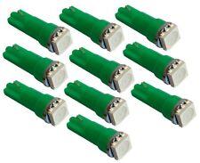 10x ampoule T5 12V LED SMD vert pour tableau de bord auto voiture