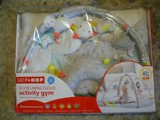 Skip Hop Silver Lining Cloud Baby Play Mat Activity Gym, Excellent Condition!