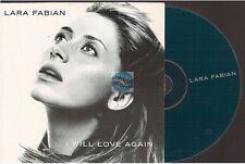 LARA FABIAN i will love again CD PROMO import UK card sleeve