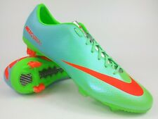 Nike Mens Rare Mercurial Veloce FG 555447 380 Green Blue Soccer Cleats Size 9.5