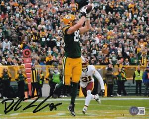 Robert Tonyan Signed Green Bay Packers 8x10 Photo Beckett Witness Certified