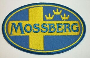 """Mossberg Hunting Rifles & Shotguns~Embroidered Patch~4"""" x 2 1/2""""~Iron or Sew On"""