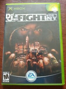 Def Jam: Fight for New York Microsoft Xbox, 2004, Original Game Complete Manual
