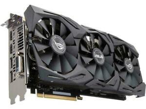 Asus ROG Strix GeForce GTX 1070 Ti Advanced edition 8GB GDDR5 Aura Sync VR ready