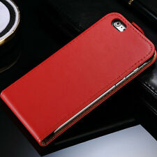 Luxury Leather Flip Case Cover Wallet For  iPhone 4 5 5S+Screen Protector