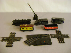 Mar Train Lot of Metal And Plastic  With Some Track , Switch , Signal
