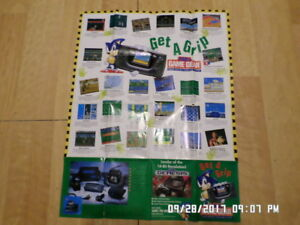 Sega Game Gear (Batman Returns) Promo Poster / Insert