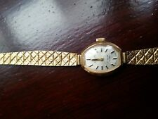 Vintage Everite 9ct Gold Ladies Watch ,Swiss Made Incabloc