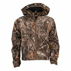 King's Camo Youth Climatex Rainwear Jacket, Color: Realtree Edge (KCK571-RE)