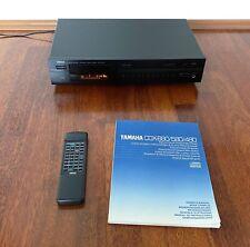 YAMAHA CDX-580 CD-Player inkl. Fernbedienung & Bedienungsanleitung
