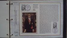 Document Philatélique - Président Georges Pompidou - 2 avril 1975