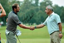 Marc WARREN 12x8 Photo Signed Autograph Scottish GOLFER Golf AFTAL COA