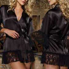 Femme Tenue Robe Chemise Sous-vêtement Nuisette Sexy Peignoir Lingerie Eté Rétro