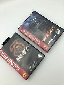 Sega Genesis Lot: Mortal Kombat 2+3 (Sega Genesis) Tested!