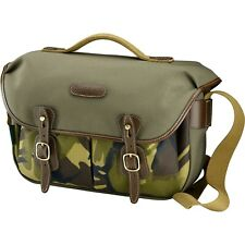 Billingham Hadley Pro Camera Bag in Sage with Camo Front/ Chocolate Trim (UK)